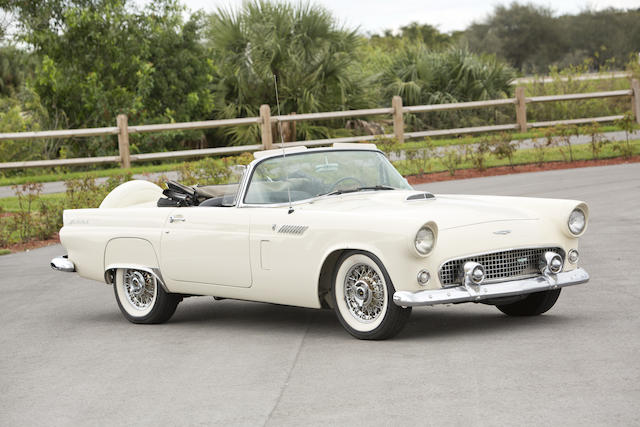 1956 Ford Thunderbird  Chassis no. P6FH356145