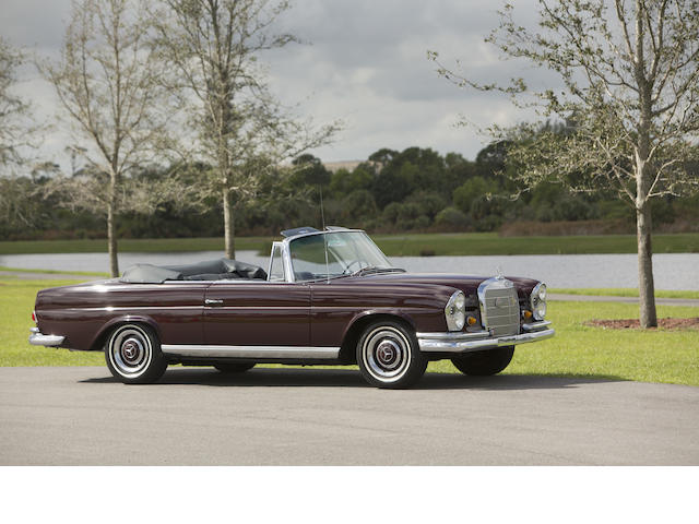 1967 Mercedes-Benz 250SE Convertible  Chassis no. 1102310087684