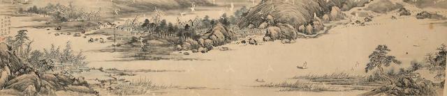 Xi Gang (1746-1863) Landscape
