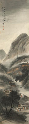 Wu Shixian (1856-1919)  Before the Wind and Rain