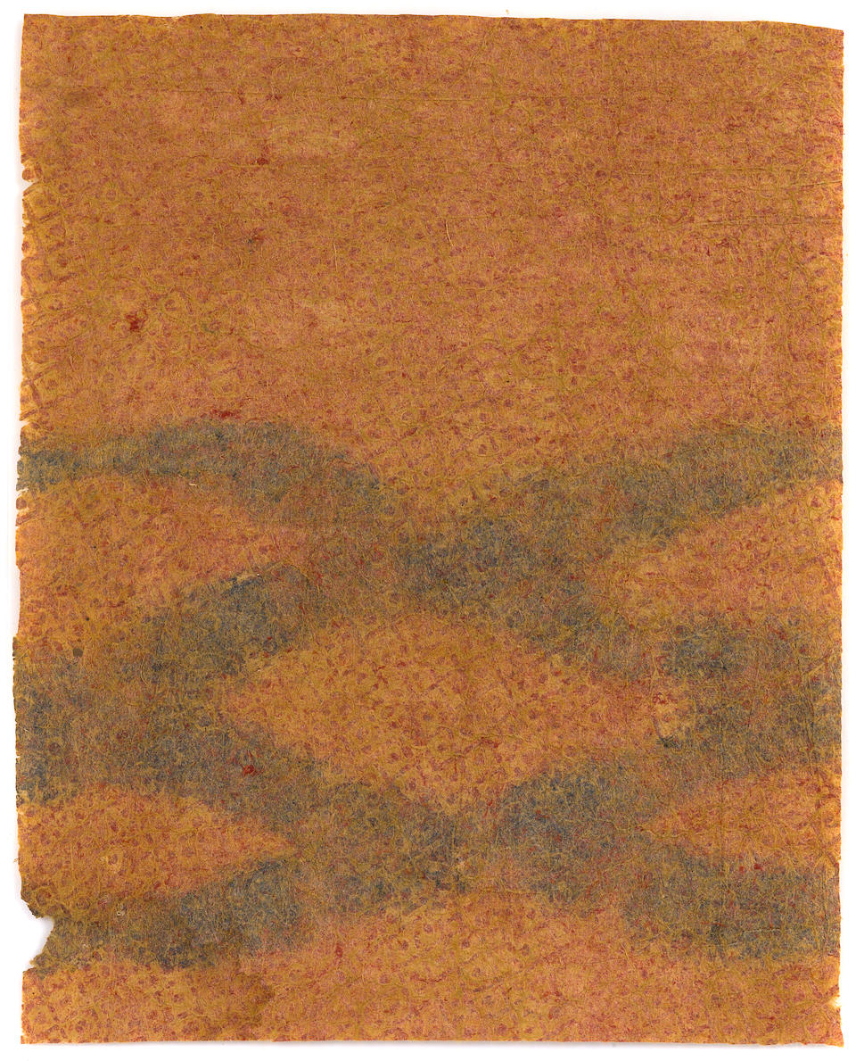 Important and Rare Collection of Decorated Barkcloth, Hawaiian Islands