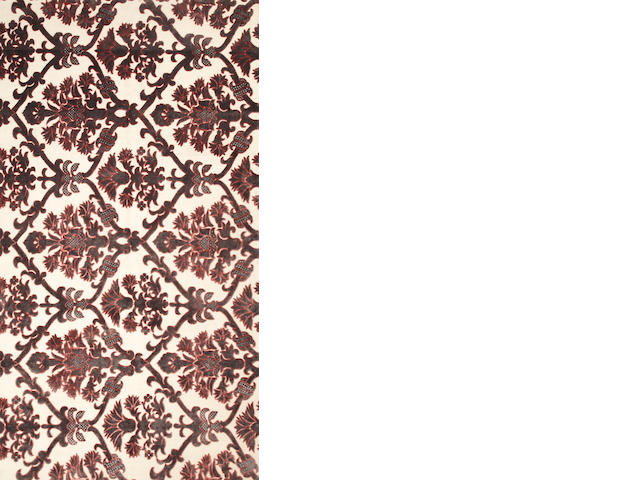 A Contemporary Silk Thai carpet  Thailand size approximately 7ft. 3in. x 13ft. 5in.