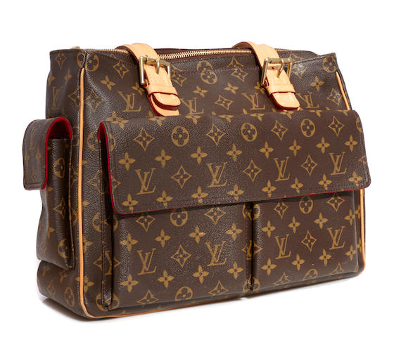 A Louis Vuitton monogram Multipli-cité tote bag