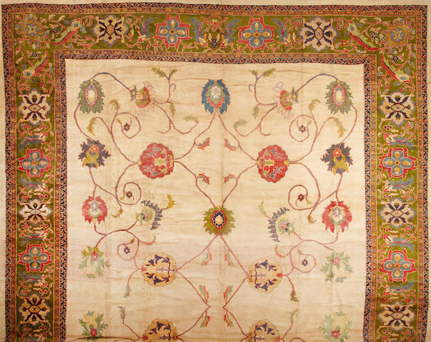 A Sultanabad carpet  Central Persia size approximately 17ft. x 24ft. 6in.