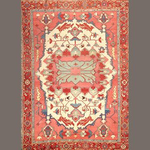 A Serapi carpet  Northwest Persia size approximately 8ft. 9in. x 12ft.