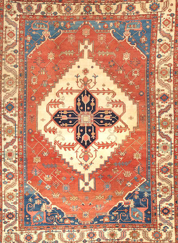 A Serapi carpet Northwest Persia size approximately 9ft. 3in. x 12ft. 7in.