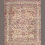 A Lavar Kerman carpet  South Central Persia size approximately 9ft. x 11ft. 2in.