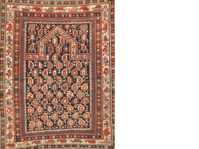 A Shirvan Marsali rug  Caucasus size approximately 3ft. 9in. x 4ft. 9in.