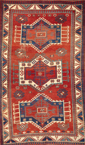 A Kazak rug  Caucasus size approximately 5ft. 9in. x 7ft. 7in.
