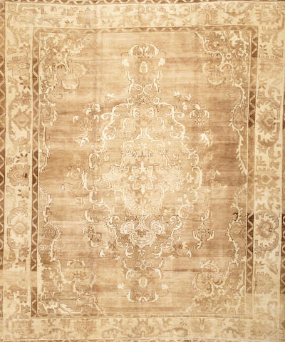 A Sivas carpet Turkey size approximately 8ft. 7in. x 10ft. 3in.