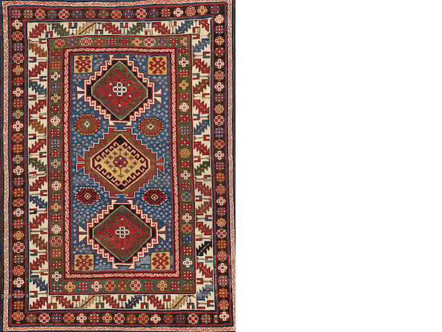 A Kazak rug  Caucasus size approximately 5ft. x 7ft. 2in.
