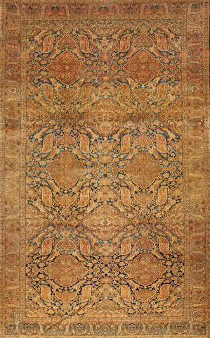 An Isphahan carpet  South Central Persia size approximately 9ft. x 16ft. 5in.
