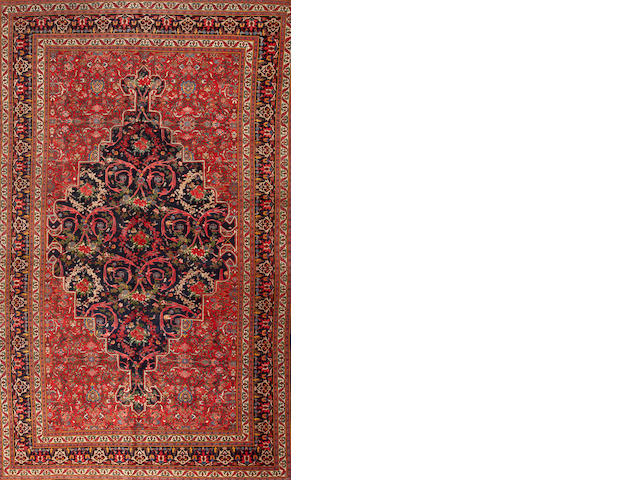 A Bidjar carpet  Northwest Persia size approximately 10ft. x 16ft. 7in.