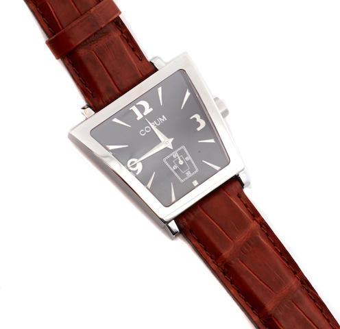 A stainless steel wristwatch, Corum