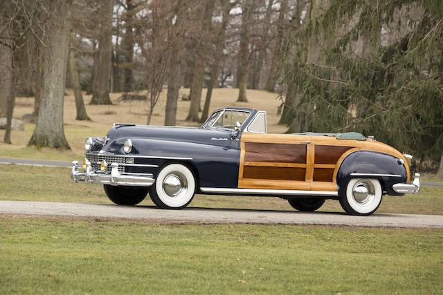 1947 Chrysler Town and Country Convertible  Chassis no. 7402722