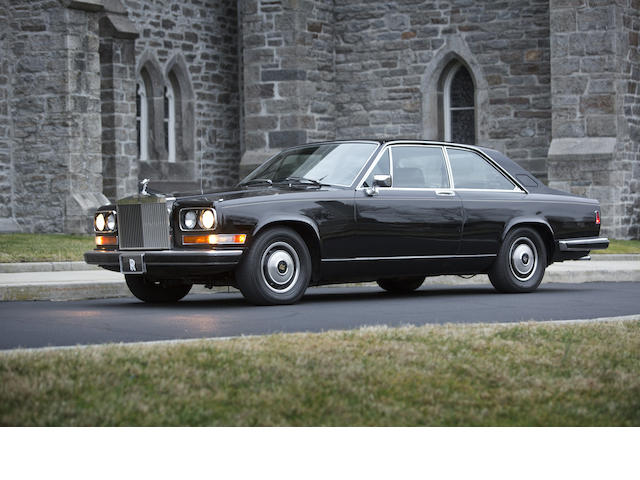 25,486 miles from new,1981 Rolls-Royce Camargue Two Door Coupe