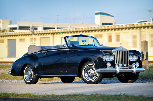 1963 Rolls-Royce Silver Cloud III Drophead Coupé  Chassis no. LSCX725