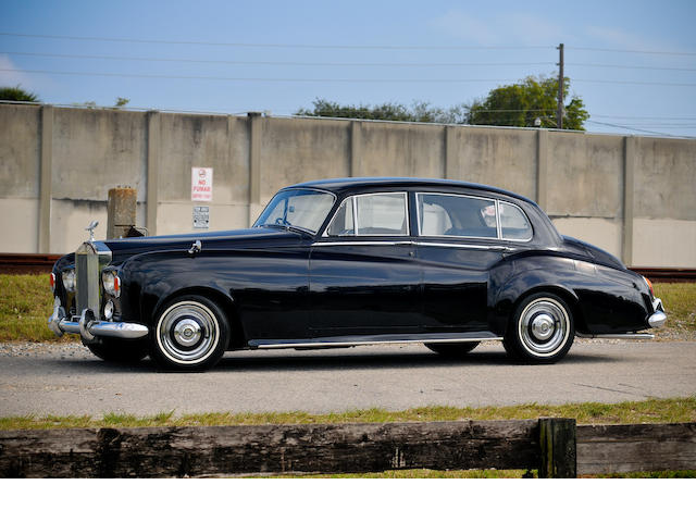 1963 Rolls-Royce Silver Cloud III LWB Saloon with Division  Chassis no. CBL11