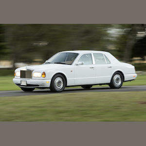 Ordered new by the a member of the Royal Family of Dubai,1999 Rolls-Royce  Silver Seraph  Chassis no. SCALA61E6XCX01844