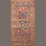 A Khotan carpet  Turkestan size approximately 5ft. 7in. x 10ft. 6in.