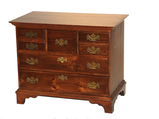 A George III style chest of drawers