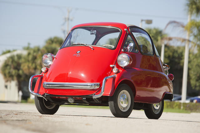1957 BMW Isetta 300  Chassis no. 494 575