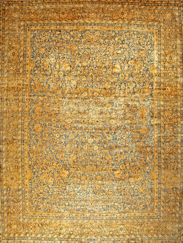 A Kerman carpet South Central Persia size approximately 13ft. 9in. x 17ft. 6in.