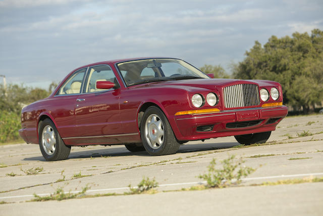 1993 Bentley Continental 'R' Coupe  Chassis no. SCBZB03D4PCX42042