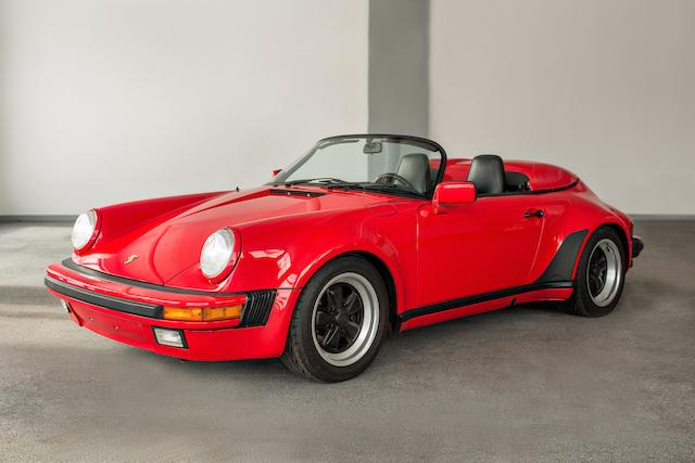 One owner from new,1989 Porsche 911 Speedster  Chassis no. WP0EB0916K5173668
