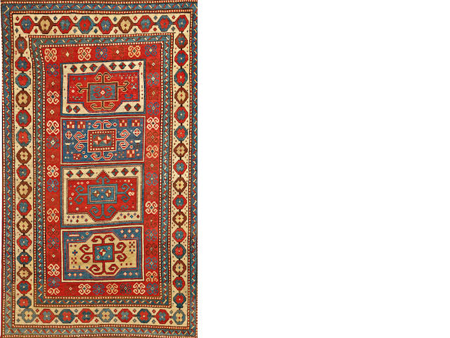 A Kazak rug  Caucasus size approximately 5ft. x 8ft. 10in.