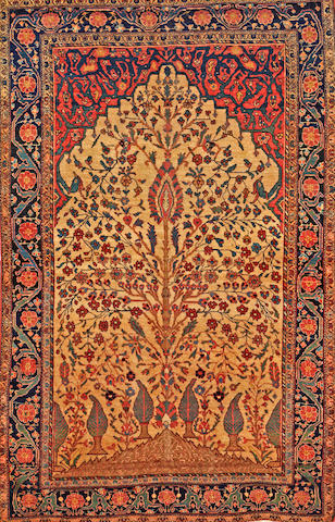 A Fereghan rug  Central Persia size approximately 4ft. 2in. x 6ft. 6in.