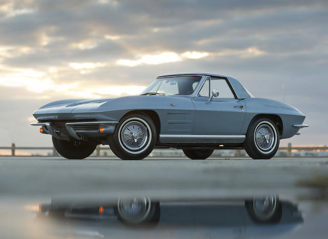 Documented with its original window sticker, freshly restored,1964 Chevrolet Corvette Convertible  Chassis no. 40867S115686