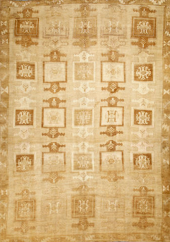 An Oushak carpet  West Anatolia size approximately 9ft. 9in. x 13ft. 6in..