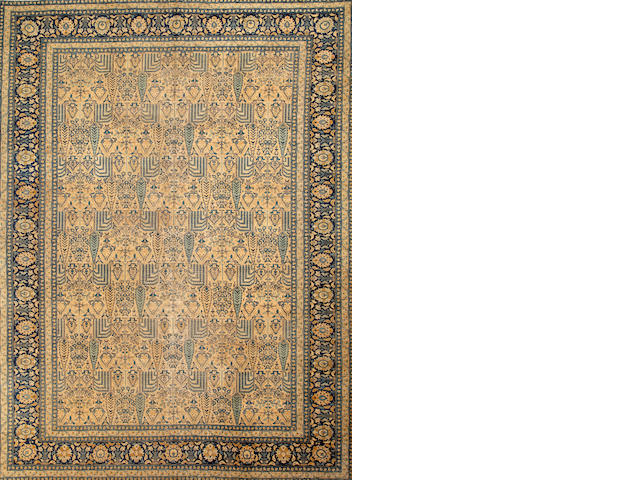 A Tabriz carpet  Northwest Persia size approximately 10ft. 2in. x 13ft. 3in.