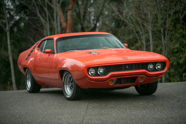 Over $45,000 spent to build,1971 Plymouth Road Runner 383 Magnum Tribute  Chassis no. RP23C1E147958