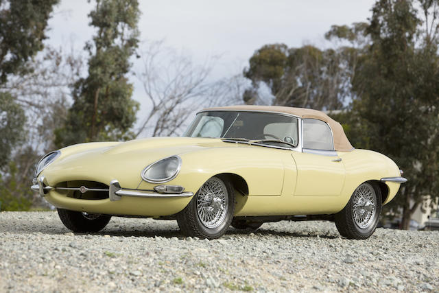 1964 Jaguar XKE Series 1 3.8 Liter Roadster  Chassis no. 879718 Engine no. RA 2679-9