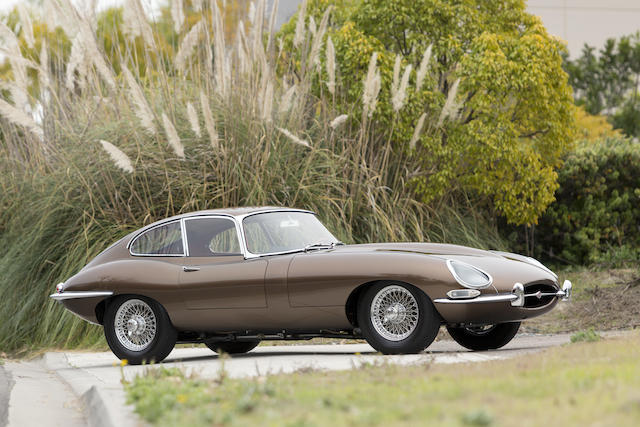 Fresh from an exacting concours restoration, early flat floor, welded louver example,1962 Jaguar XKE Series 1 3.8 Liter Fixed Head Coupe  Chassis no. 885391 Engine no. R3422-9