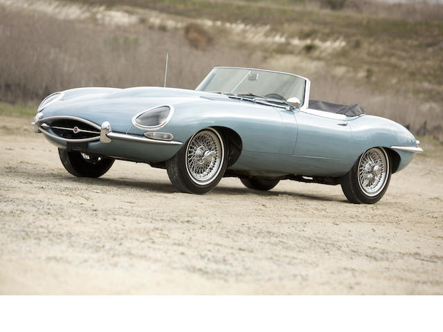 Less than 20,000 miles from new,1965 Jaguar XKE Series 1 4.2 Liter Roadster  Chassis no. 7E 2871-9