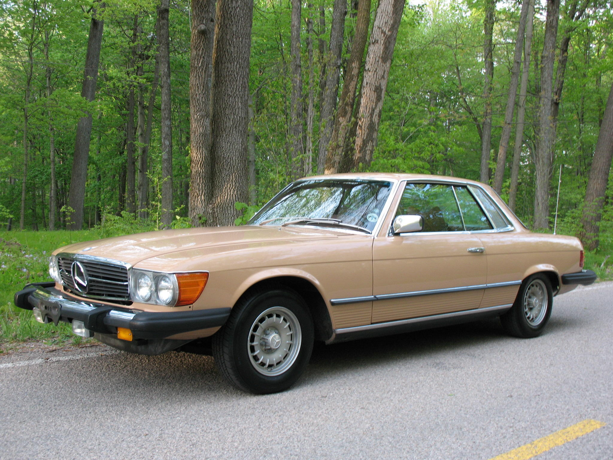 2 owners, just over 40,000 miles from new 1977 Mercedes-Benz 450 SLC...