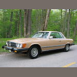 1977 Mercedes-Benz 450 SLC Coupe  Chassis no. 107024-12-018926