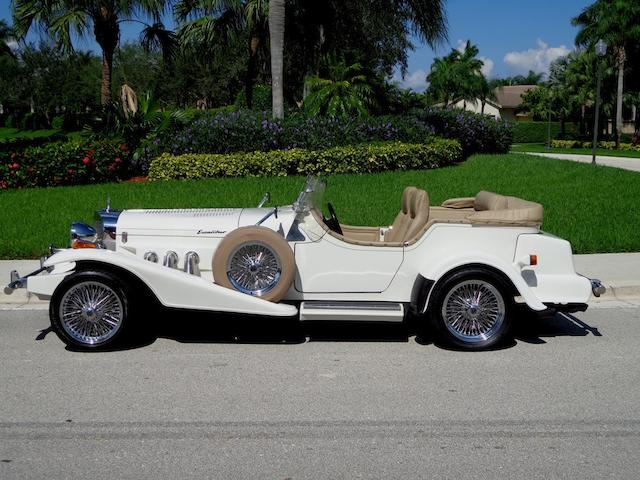 1998 Excalibur Series V Phaeton  Chassis no. 1XAEC4425WM98 Engine no. 0044