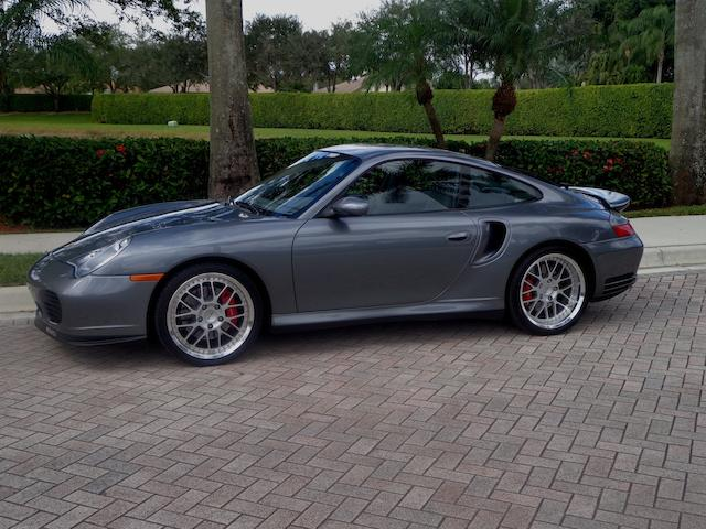 2001 Porsche Twin Turbo Coupe  Chassis no. WP0AB299515686540