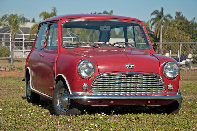 Original US delivery, 3 owners from new,1962 Austin MkI Mini  Chassis no. AA2S7L231455A Engine no. 8AMUH310702