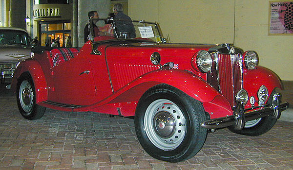 Concours condition, former prize winning,1951 MG TD  Chassis no. TD 9487