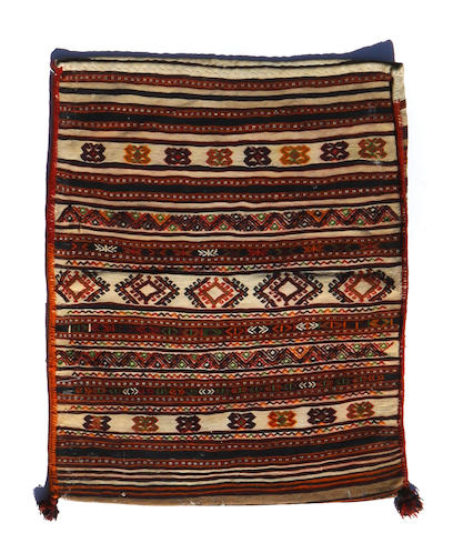 A Shasavan saddlebag size approximately 2ft. 9in. x 3ft.