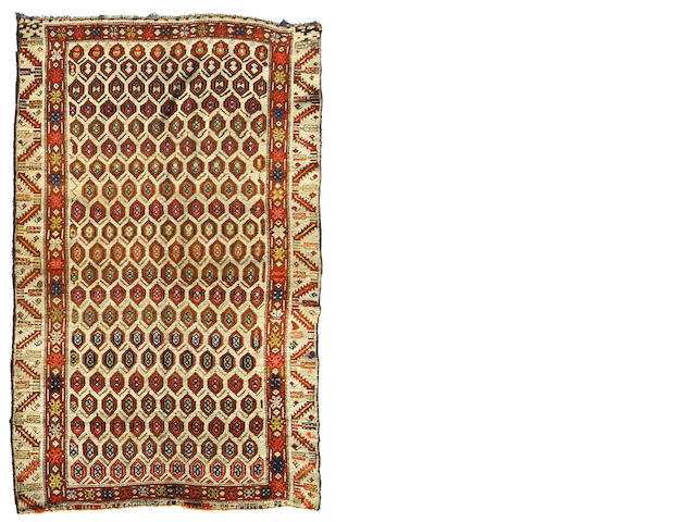 A Northwest Persian rug  size approximately 4ft. 9in. x 6ft. 8in.