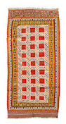 A Southwest Persian kilim size approximately 4ft. 8in. x 10ft. 3in.