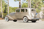 1934 Chevrolet 4-Door Sedan  Chassis no. AG579