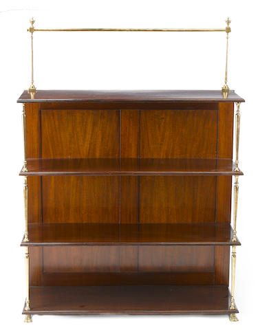 A Regency mahogany bookcase<BR />first quarter 19th century