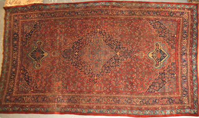 A Bidjar carpet  size approximately 9ft. 6in. x 15ft. 6in.